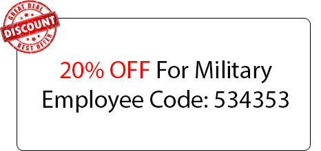 Military Employee Discount - Locksmith at El Cajon, CA - Locksmith El Cajon California